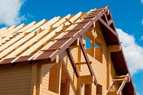 Как сделать фронтон двухскатной крыши