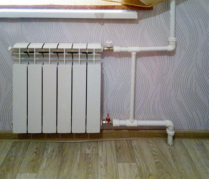 Байпас радиатора в системе отопления