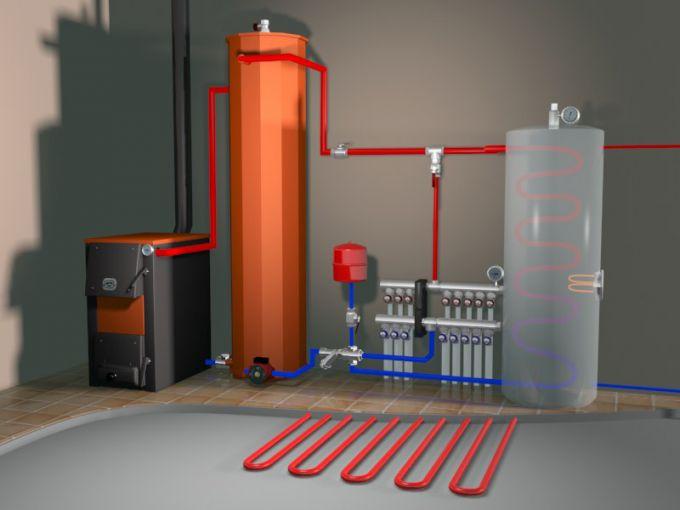 Как сделать тплоаккумулятор для котлов отопления