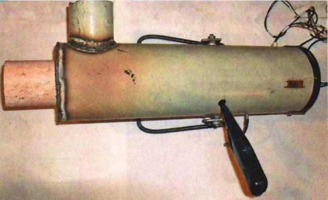 Тепловая газовая пушка своими руками