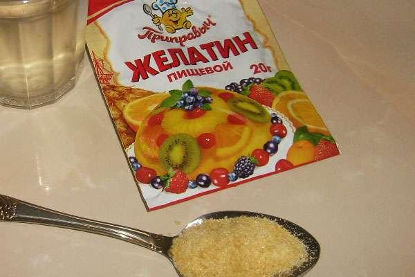 Как правильно развести пищевой желатин для холодца
