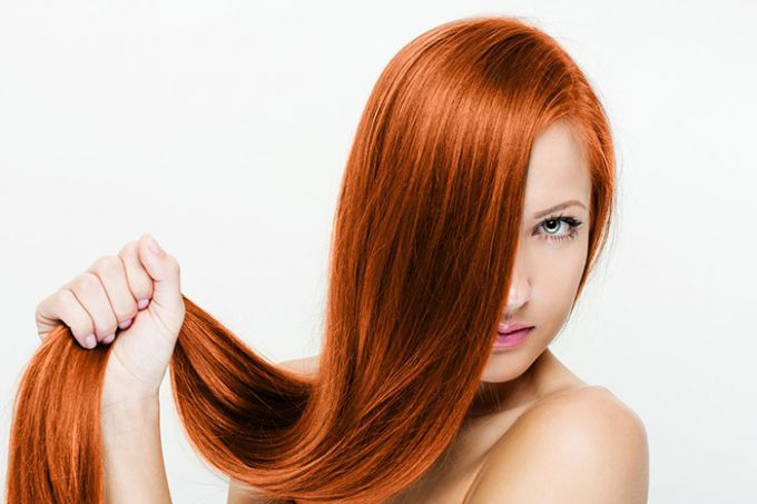 How to just do laminating hair gelatin at home
