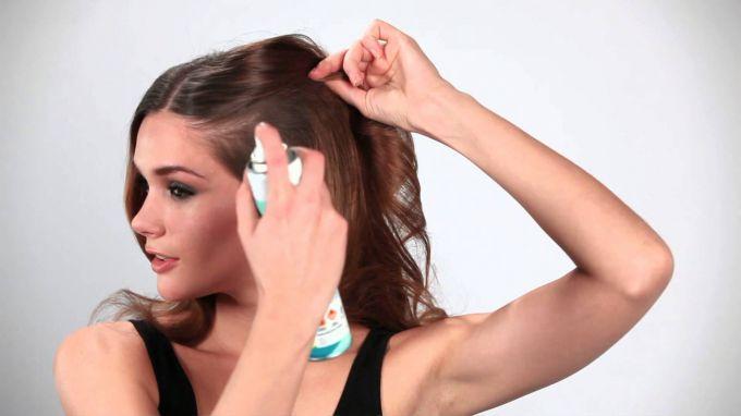 Как правильно использовать сухой шампунь