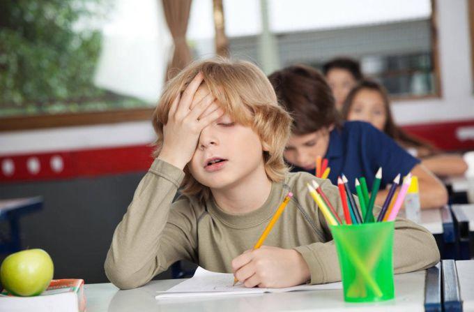 Симптомы хронической усталости у школьников