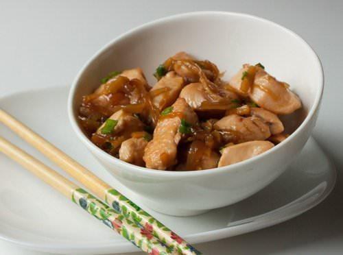 Как приготовить курицу в имбирном соусе