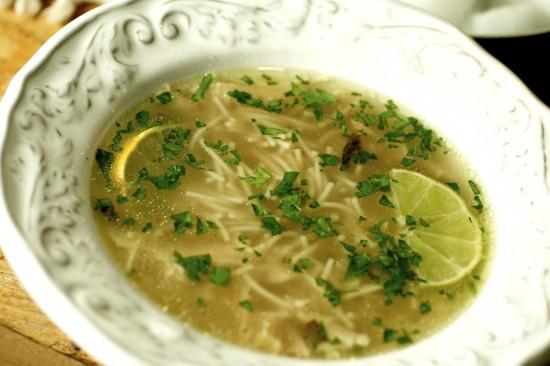 куриный суп с картошкой и вермишелью