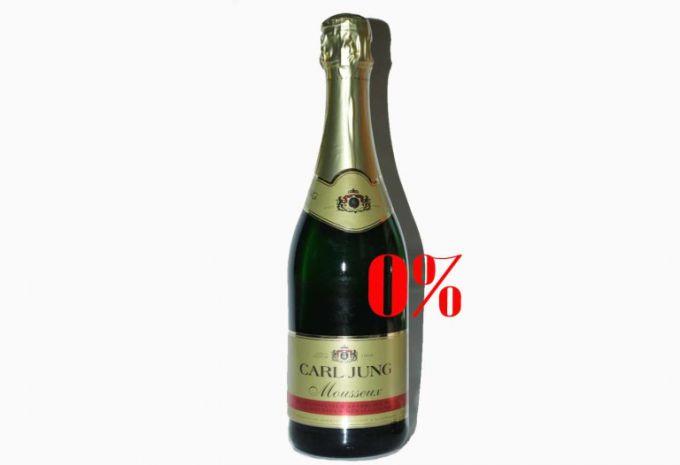 Как приготовить безалкогольное шампанское