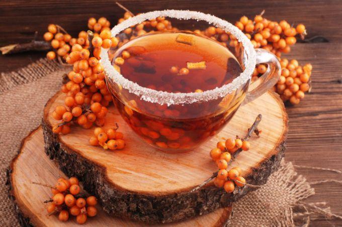 Как приготовить чай с облепихой