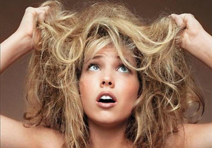 How to treat overdried hair