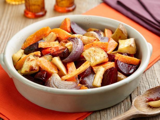 Запеченные овощи - здоровое блюдо