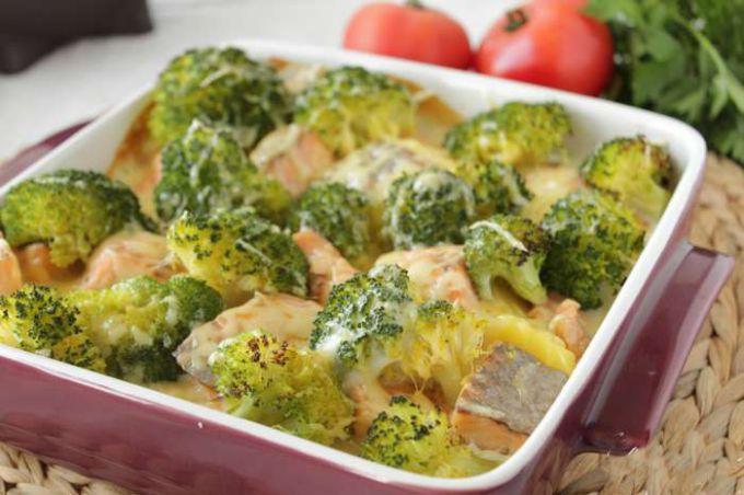 Брокколи в духовке: рецепты с фото для легкого приготовления