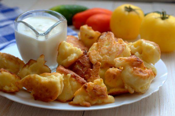 Цветная капуста в кляре: рецепты с фото для легкого приготовления