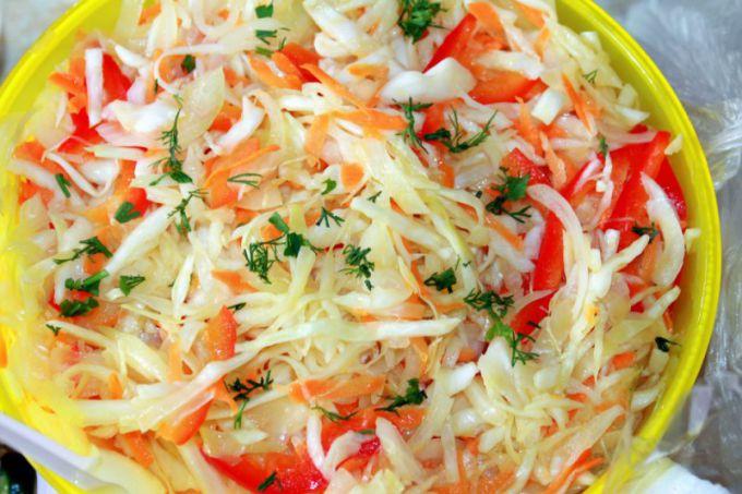 Капуста, маринованная с морковью: пошаговые рецепты с фото для легкого приготовления