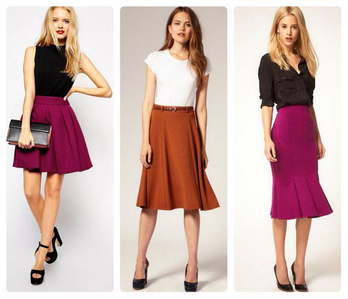 как правильно носить юбку-годе