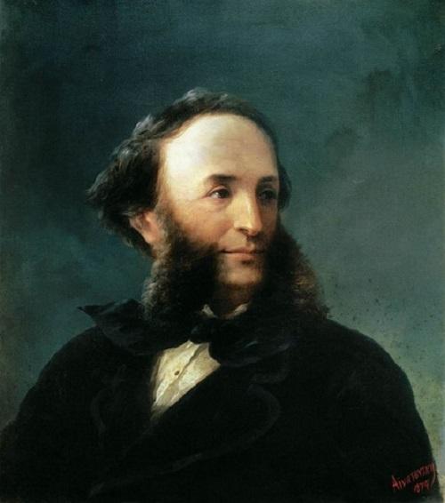 И.К. Айвазовский, автопортрет, 1874