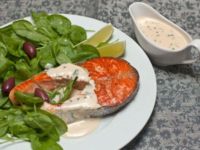 Сливочный соус для рыбы: пошаговые рецепты с фото для легкого приготовления