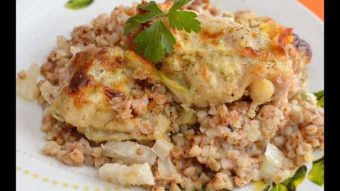 Гречка с курицей в духовке: пошаговые рецепты с фото для легкого приготовления