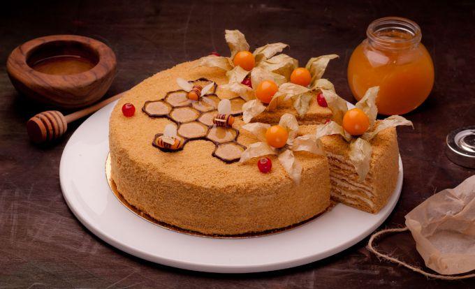 Медовый торт на водяной бане: пошаговые рецепты с фото для легкого приготовления