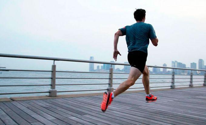 бегун в Нью - Йорке