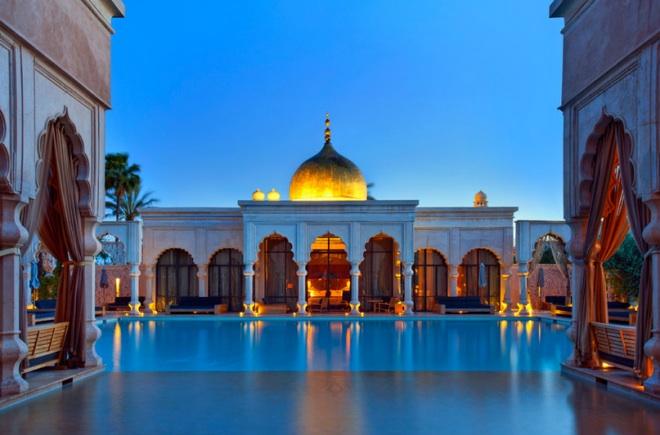 Сумерки в Марокко - время волшебства
