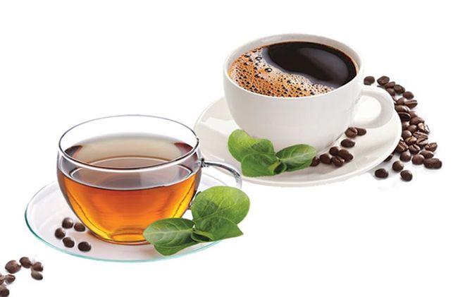 Зеленый чай или черный кофе?
