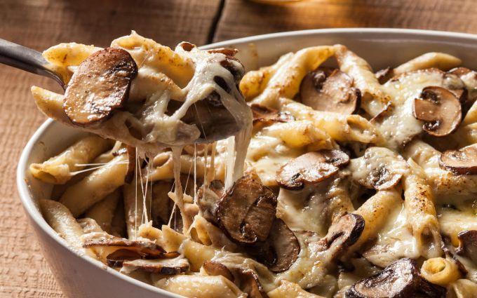 Горячие блюда с грибами