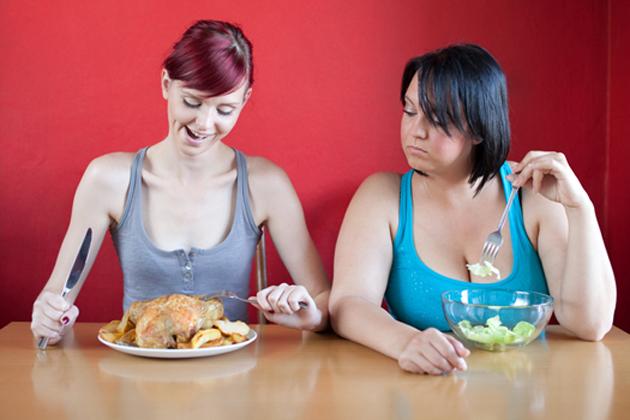 От чего не зависит похудение