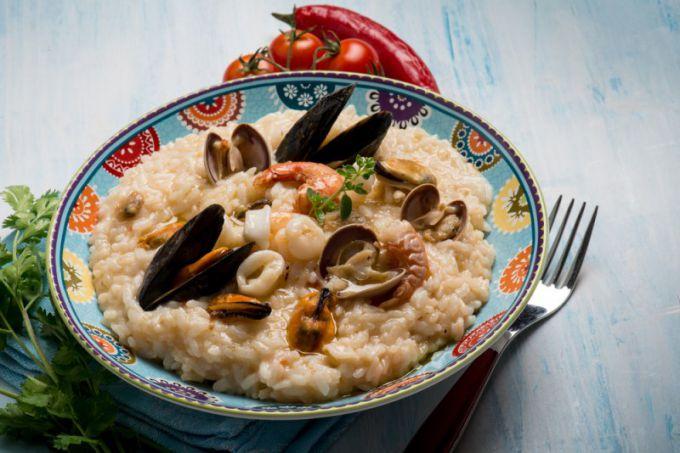 Ризотто из морепродуктов: пошаговые рецепты с фото для легкого приготовления
