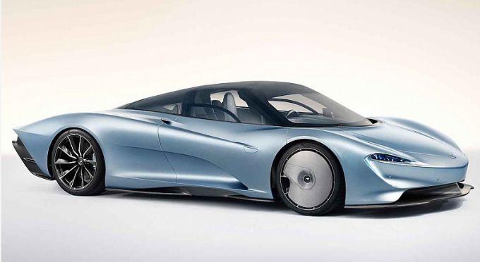 McLaren представила флагманскую модель Speedtail