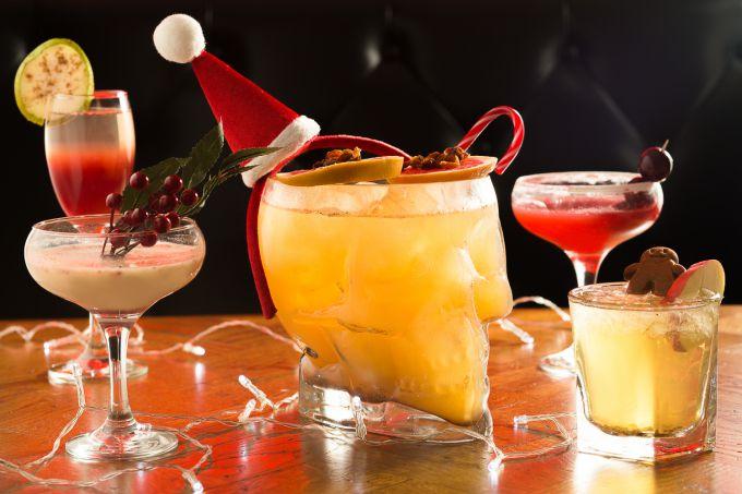 Рождественские коктейли