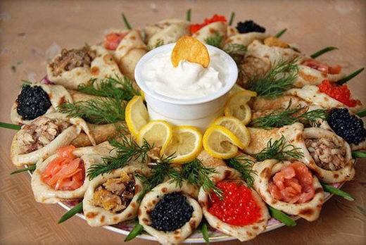 Закуска из блинов: пошаговые рецепты с фото для легкого приготовления