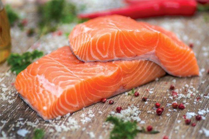 Соленый лосось вкусен и полезен