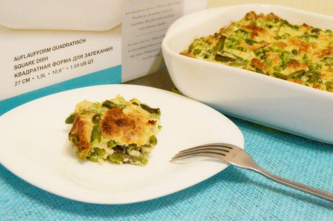 Итальянский омлет с овощами и крекерами: пошаговый рецепт с фото