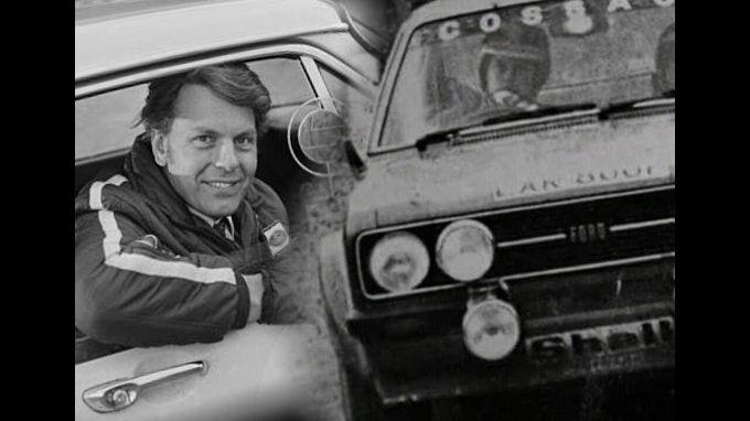 Автогонщик Роджер Кларк