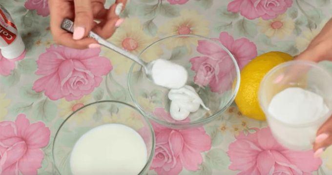 Добавьте столовую ложку пищевой соды