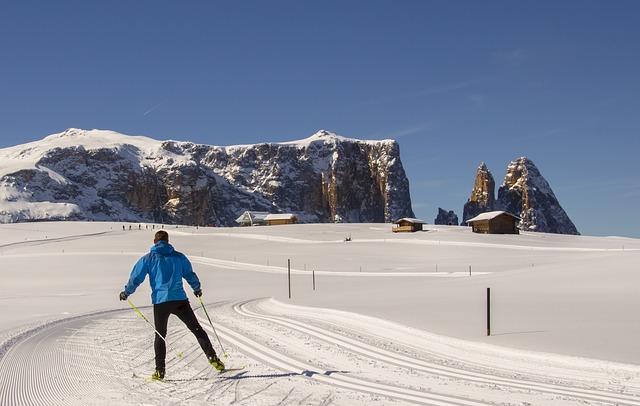 Почему полезно кататься на лыжах