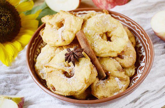 Вкуснейшие яблочные пончики