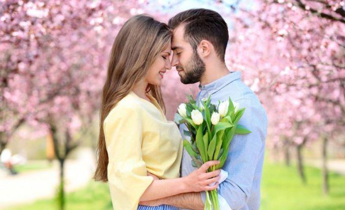 Поведение влюбленного мужчины