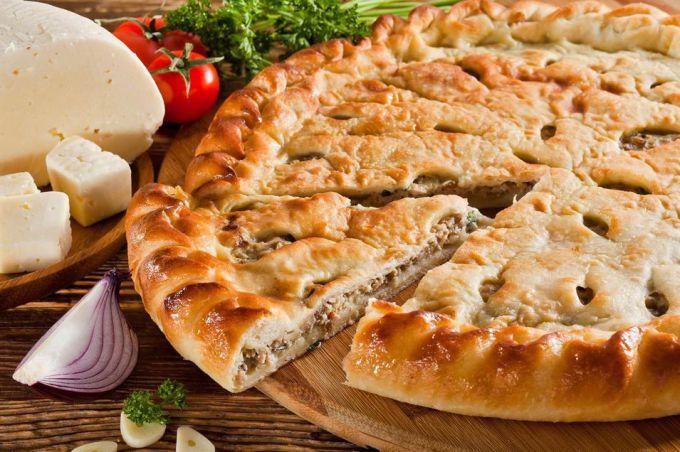 Пошаговый рецепт печеночного пирога с фото