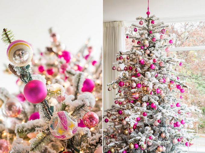 Как украсить елку в 2019 году свиньи: цвета