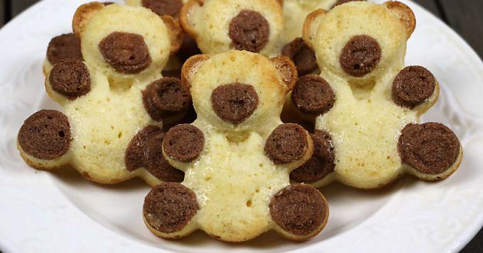 """Как испечь печенье """"Мишки Барни"""""""