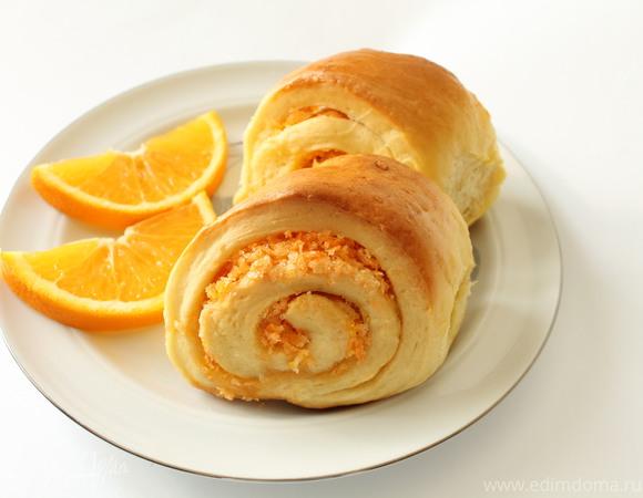 Как испечь апельсиновые булочки
