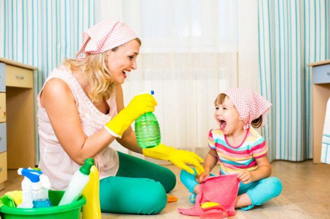 Как легко приучить ребенка к порядку