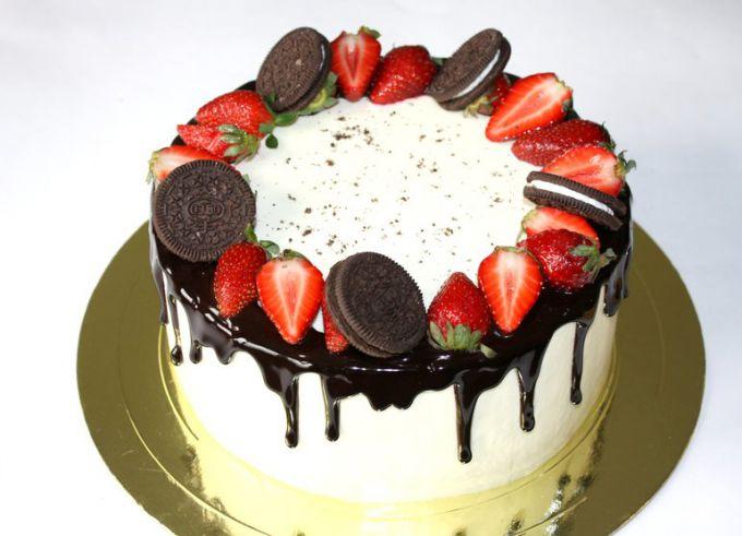 Идеи украсить торт в домашних условиях 64