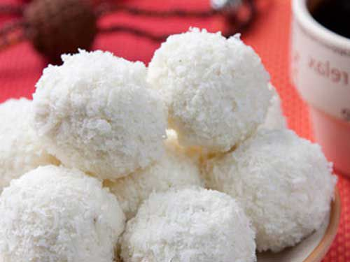 Как приготовить кокосовые шарики с творогом