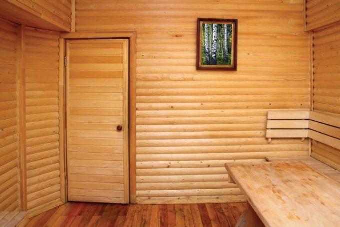 Как сделать дверь в баню своими руками