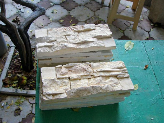 Как сделать искусственный камень своими руками в домашних условиях