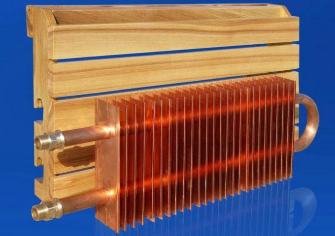 Самодельный водяной конвектор