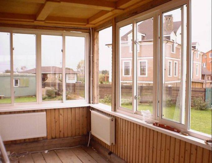 Как сделать раздвижные окна для террасы