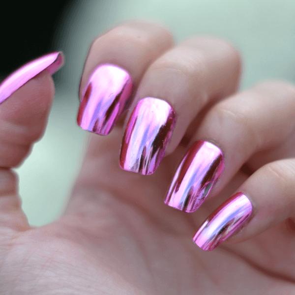 Как нанести втирку для ногтей на гель-лак